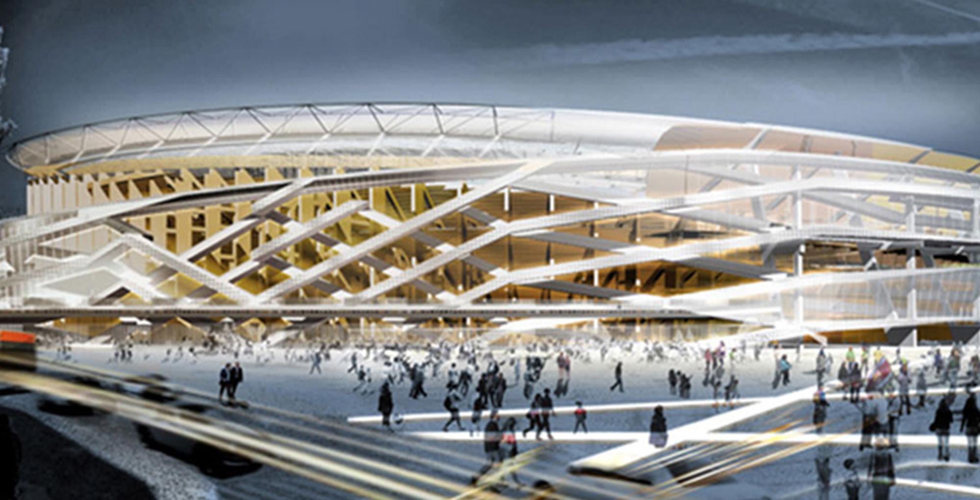 New Camp Nou stadium in Barcelona