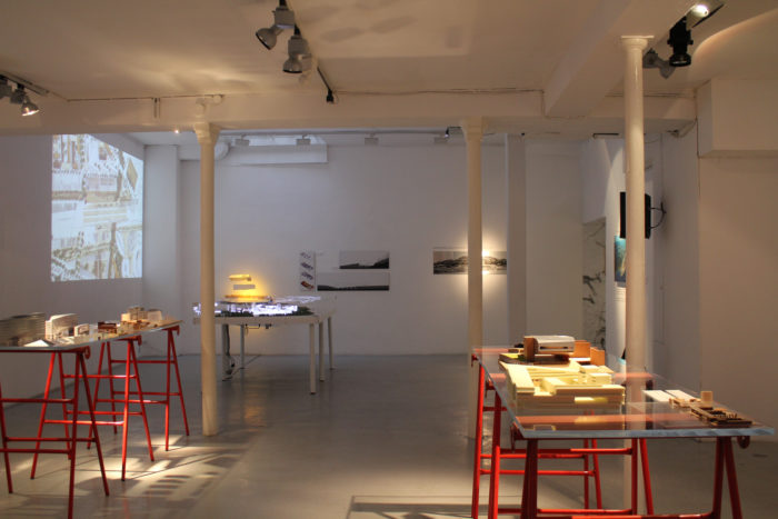 """Panta Rhei"", an exhibition of Mateo Arquitectura"