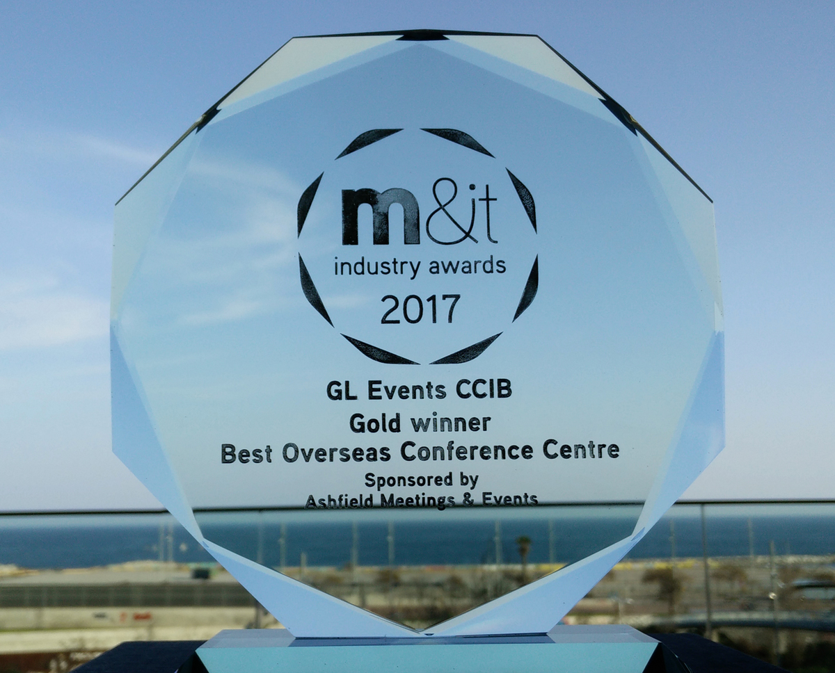 CCIB, Best Overseas Conference Centre 2017