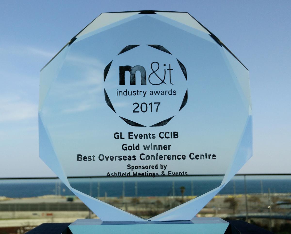 CCIB, Best Overseas Conference Centre 2017