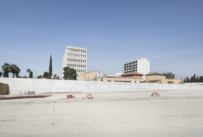 An urban axis in Nice