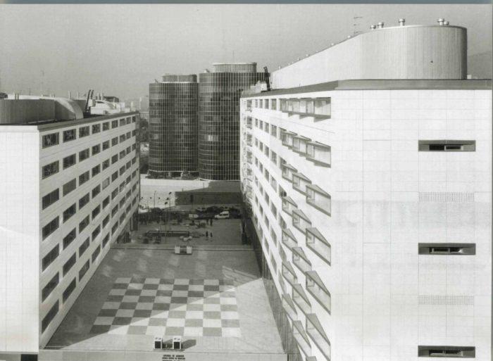 Multifunctional complex Joan Güell in Barcelona