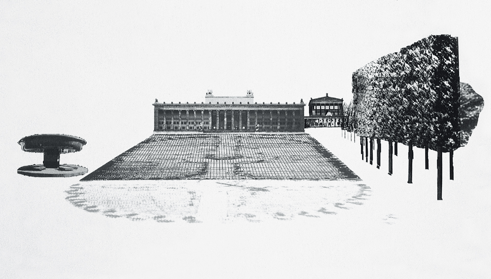 Design of the Lustgarten in Berlin