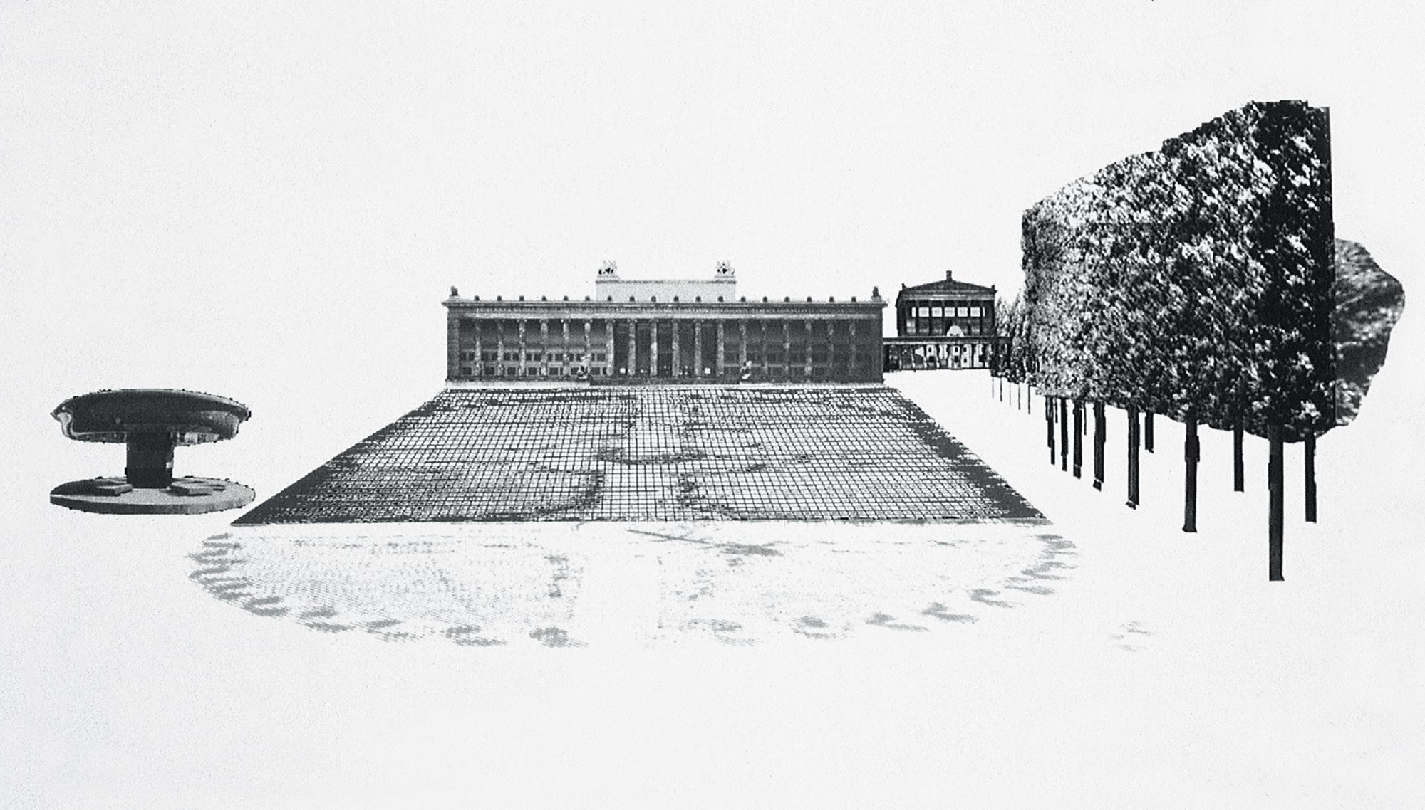 Design of the Lustgarten in Berlin