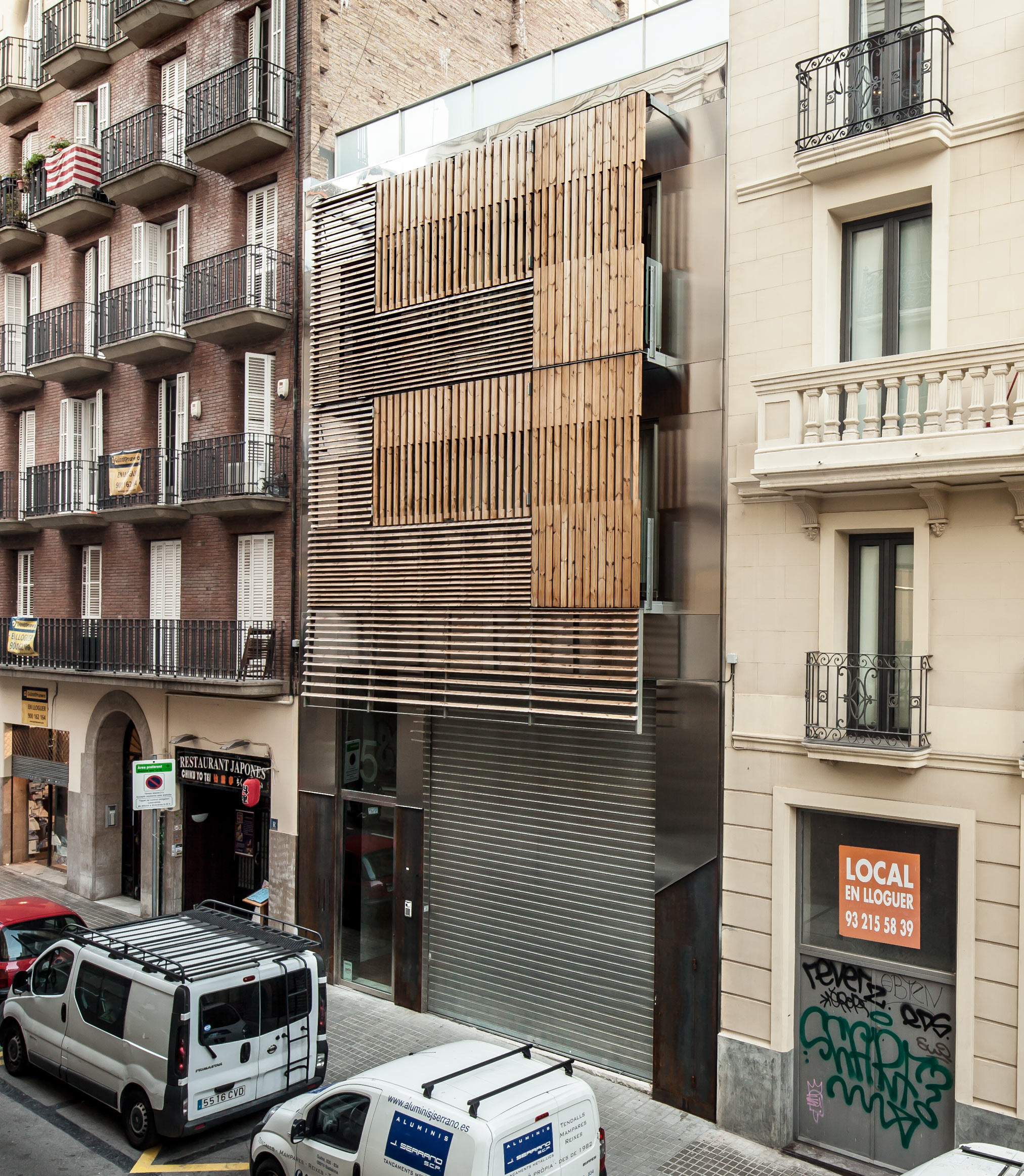 Residential building in Barcelona