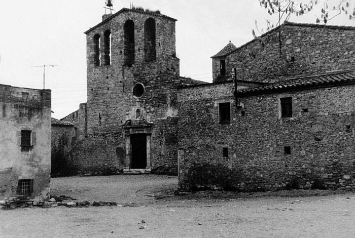 Development of the medieval town of Ullastret, Girona