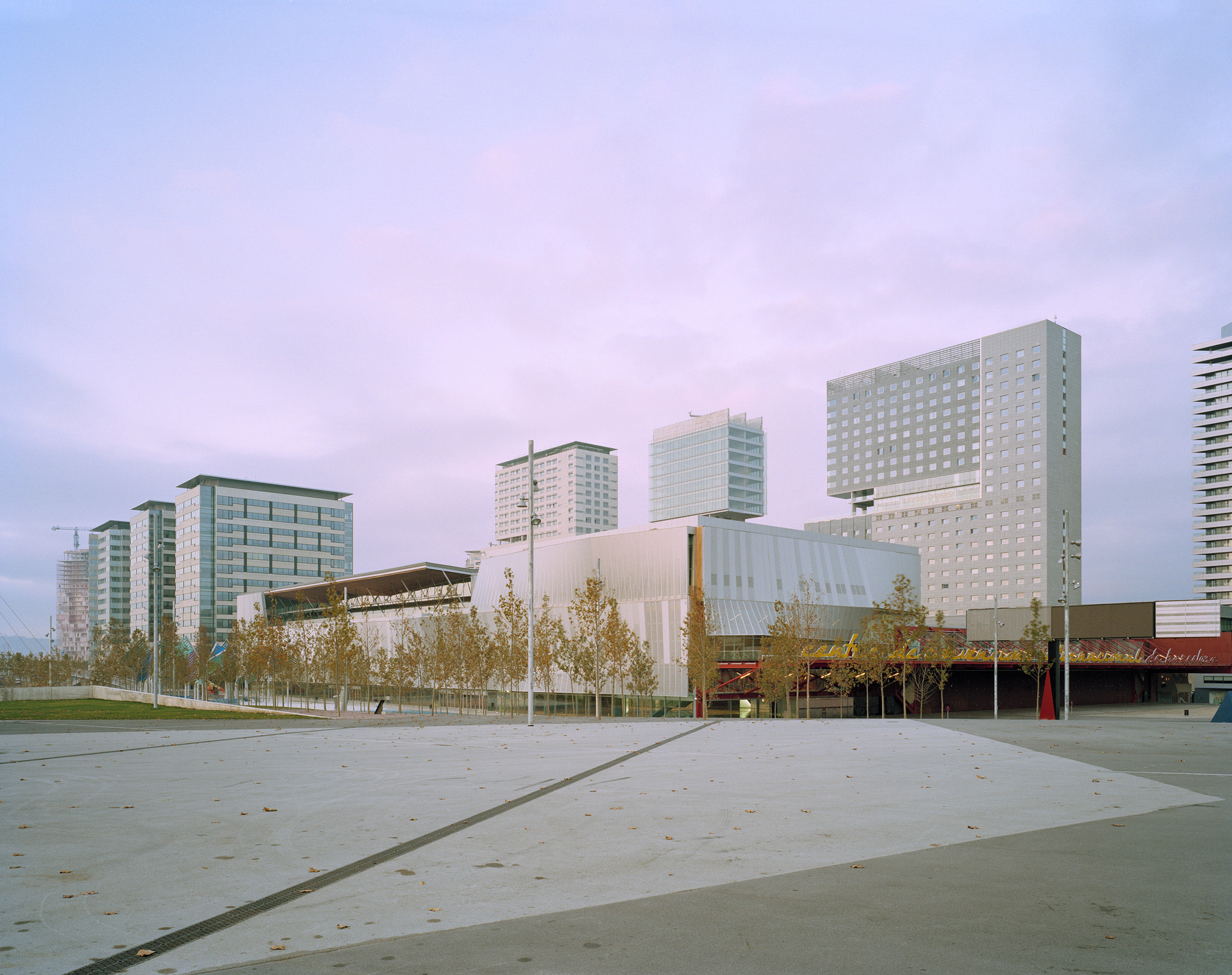 International Convention Center in the area of Forum 2004, Barcelona