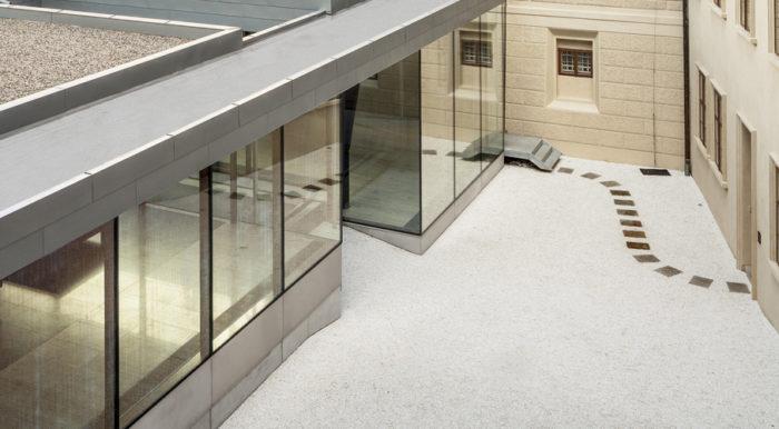 Materials #2: Prague National Gallery Entrance Hall