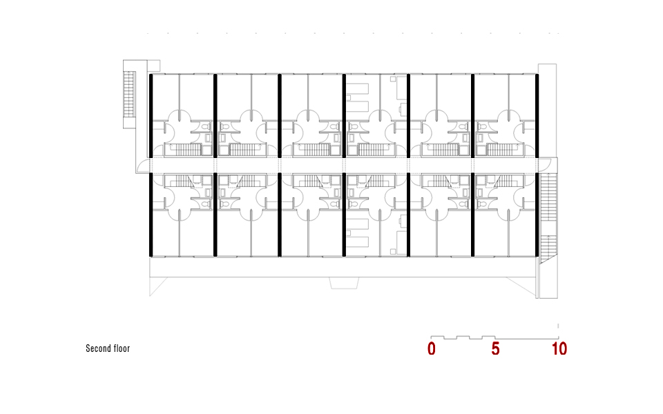 16 social housing block for the Housing Festival in the Hague The – Social Housing Plans
