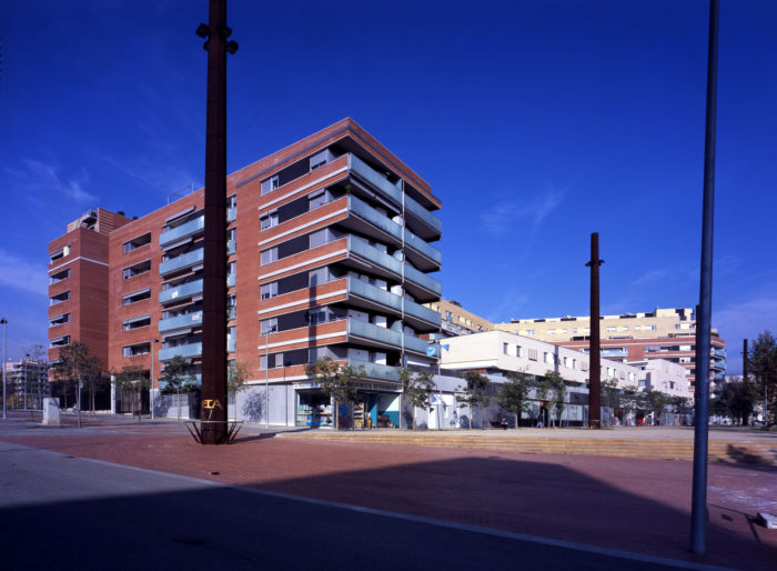 500 Housing Units in the residential area of La Maquinista, Barcelona