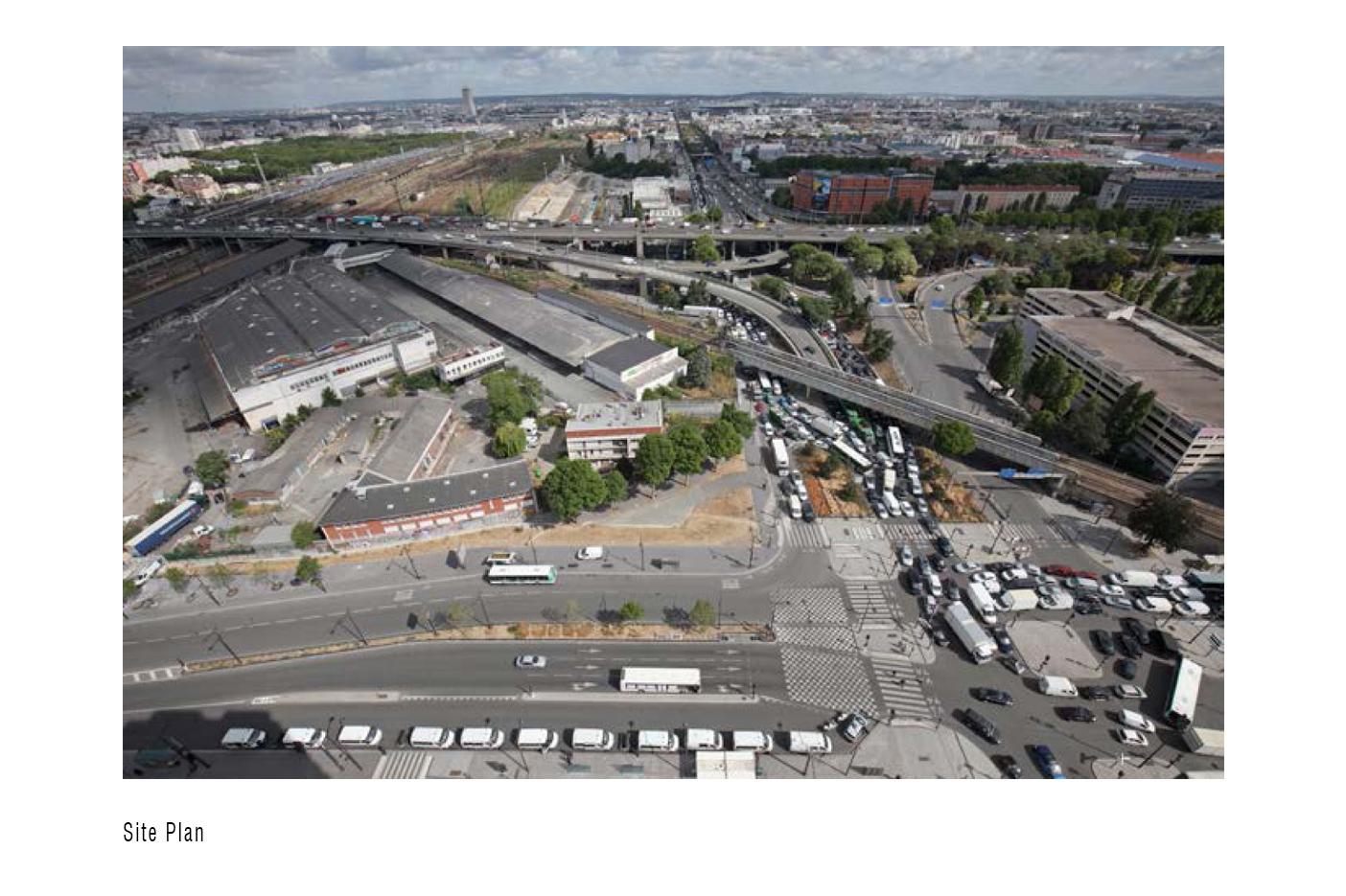 Site Plan - Condorcet Campus - Josep Lluís Mateo