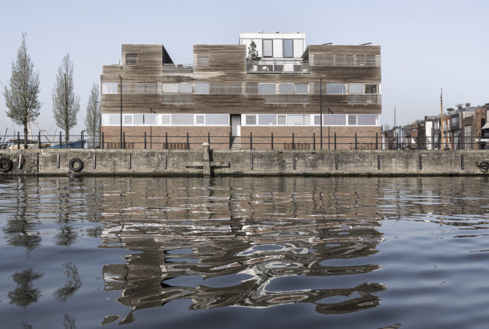 Dwellings on Borneo Island, Amsterdam. Revisited