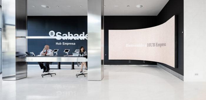 Banc Sabadell Company HUB by mateoarquitectura