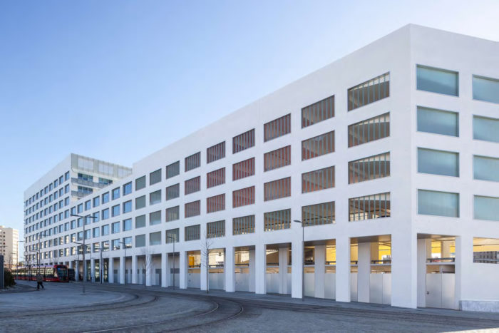 CONNEXIO, the first office building at Nice Grand Arénas