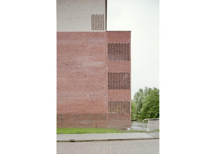 Housing complex in Heerhugowaard, Netherlands