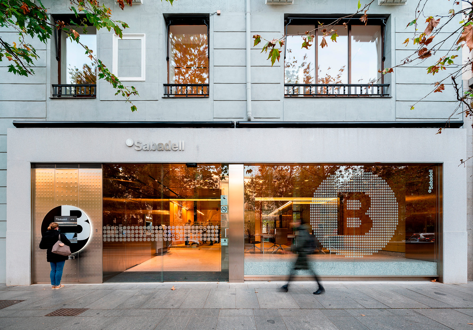 Banc Sabadell Space in Madrid, Spain